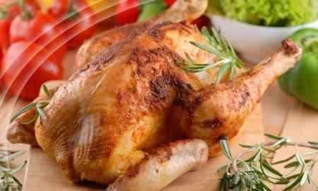 курица запеченная в сметане