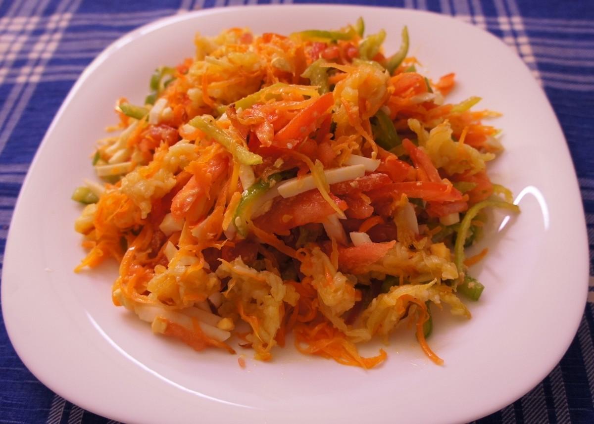 салат с острым перцем