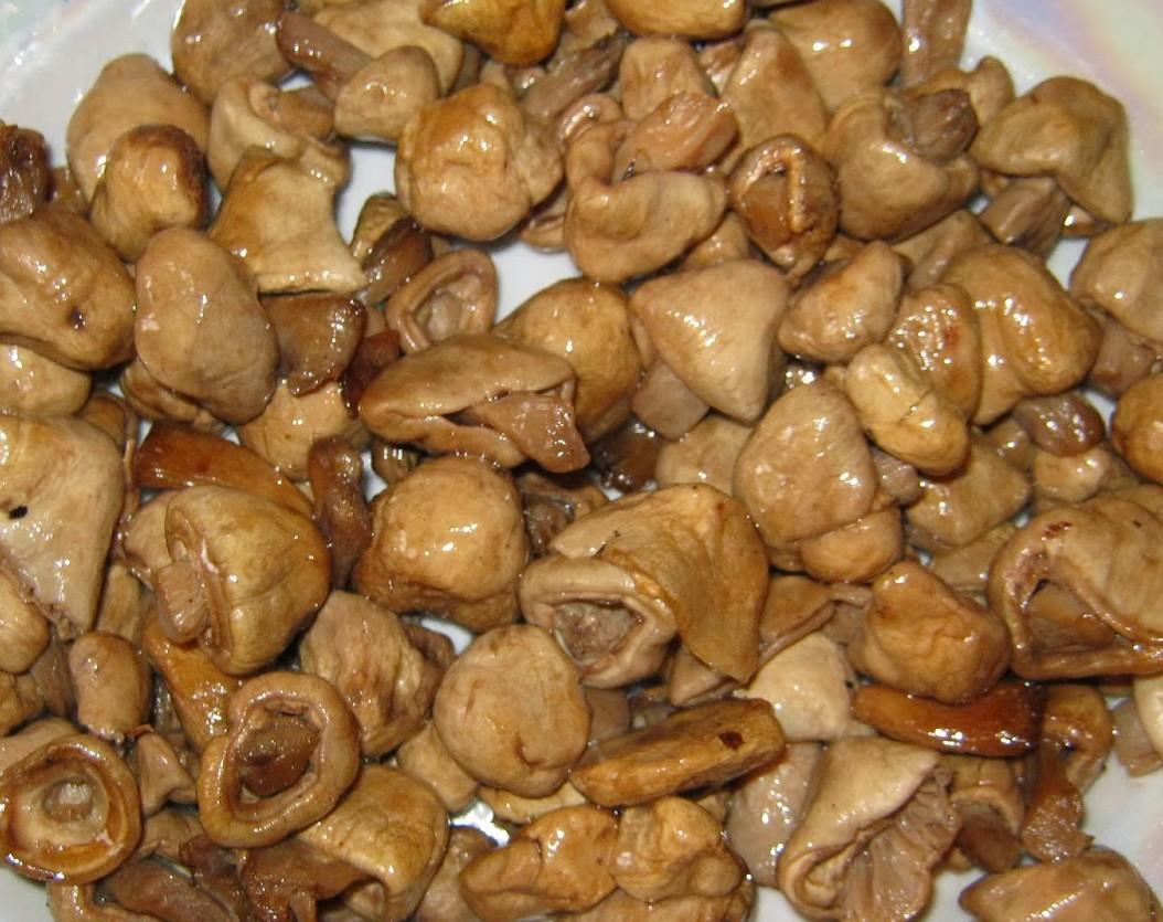 простые салаты с грибами