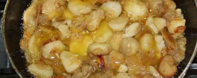 вторые блюда с грибами