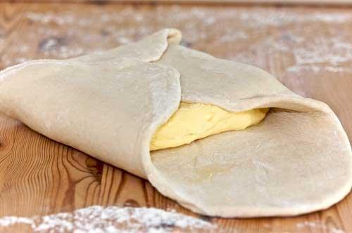 слоеное тесто быстрого приготовления рецепт на кефире
