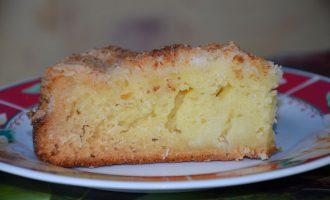 Кокосовый пирог на кефире
