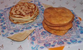 Сырные лепешки на кефире с сыром