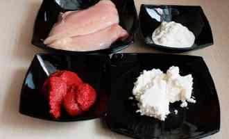Ингредиенты для курицы в соусе