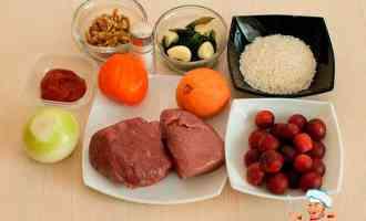 Ингредиенты для вкуса харчо